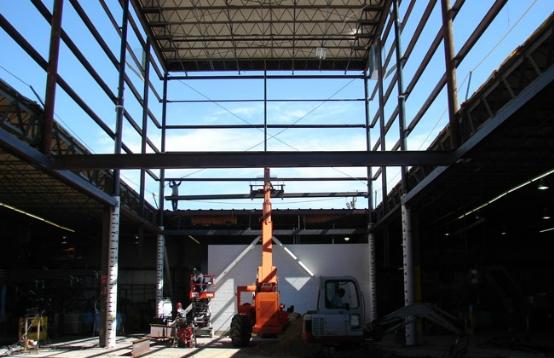 safe roof lifting process